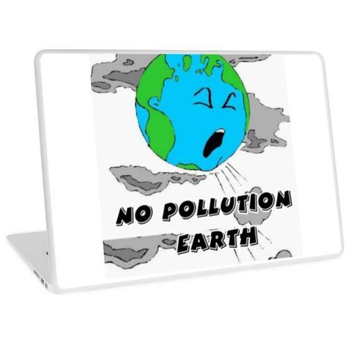 Keine Verschmutzung der Erde ، Umwelt, Verschmutzung, Ozon Laptop Skin