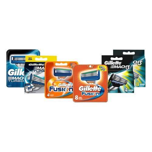 Gillette Rasierklingen: Gillette Fusion Rasierklingen/ 4er-Pack