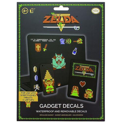 The Legend Of Zelda Sticker-Set Aufkleber - multicolor - Offizieller & Lizenzierter Fanartikel