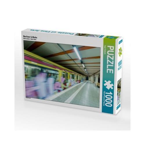 Berliner U-Bahn Foto-Puzzle Bild von Ingo Gerlach Puzzle