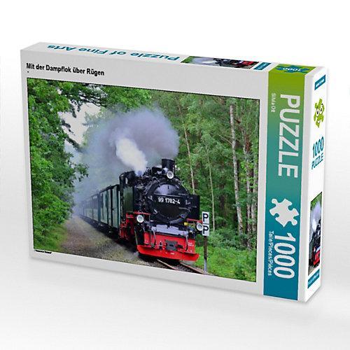 Mit der Dampflok über Rügen Foto-Puzzle Bild von Silvia Ott Puzzle