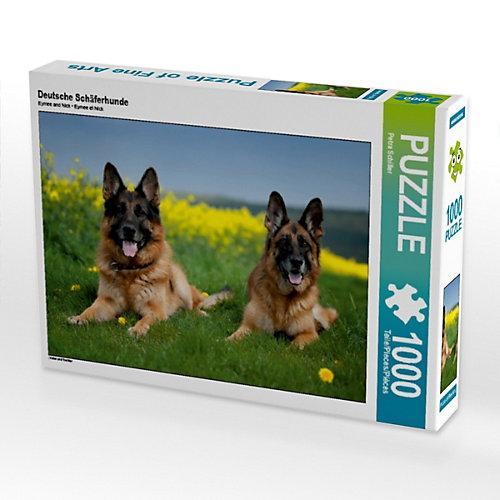 Deutsche Schäferhunde Foto-Puzzle Bild von Petra Schiller Puzzle