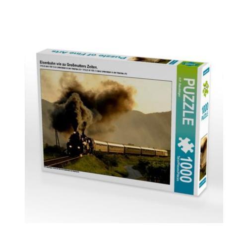 Eisenbahn wie zu Großmutters Zeiten. Foto-Puzzle Bild von HP Puzzle