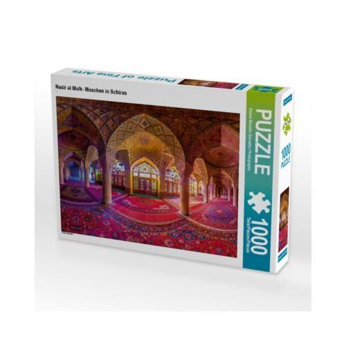 Nasir al Molk- Moschee in Schiras Foto-Puzzle Bild von hello@danielricardogonzalez.com Puzzle