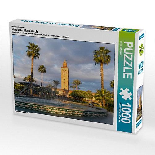 Marokko - Marrakesch Foto-Puzzle Bild von Peter Schickert Puzzle