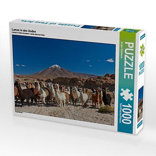 Lamas in den Anden Foto-Puzzle Bild von www.travel4pictures.com Puzzle