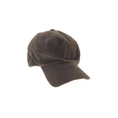 Baseball Cap: Brown Accessories