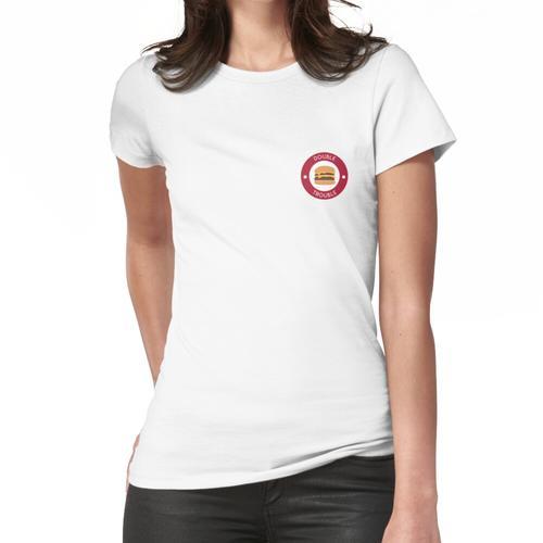 Doppelter doppelter Burger Frauen T-Shirt