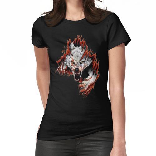 WÜTENDES WOLFBLUT Frauen T-Shirt