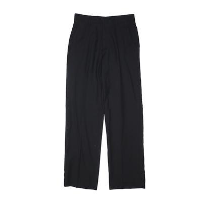 Ike Behar Dress Pants: Black Bot...