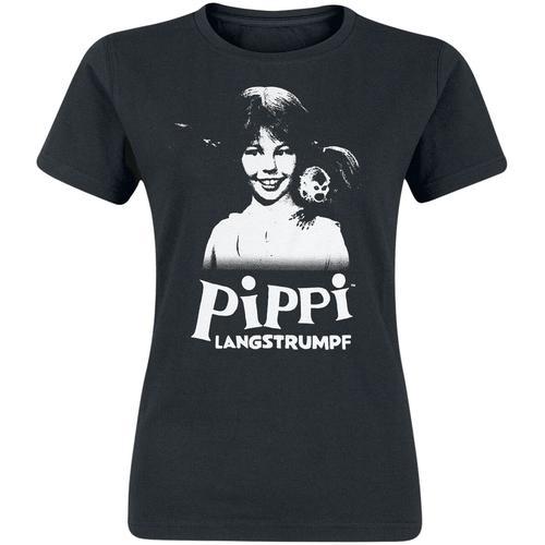 Pippi Langstrumpf Pippi Langstrumpf Damen-T-Shirt - schwarz - Offizieller & Lizenzierter Fanartikel