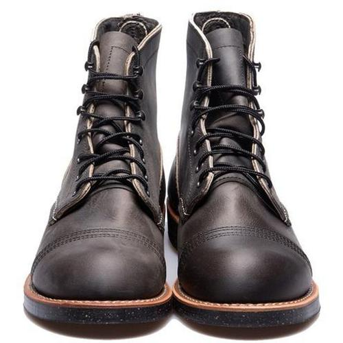 Red Wing Iron Ranger 8086 Holzkohle R T.