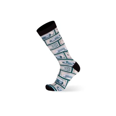 Men's Big & Tall The Success Socks by TallOrder in Green (Size 12-15)