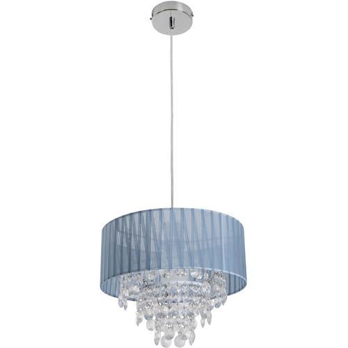 näve Pendelleuchte Kristallo, E27, 1 St. grau Deckenleuchten SOFORT LIEFERBARE Lampen Leuchten