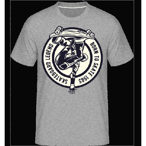 Skateboard Legend - Shirtinator Männer T-Shirt