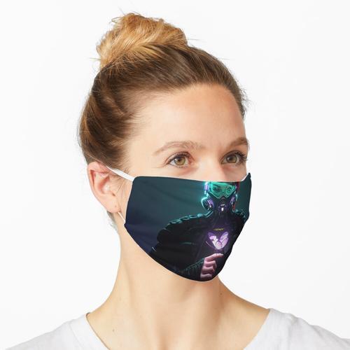 Cyberpunk - Koffer, Rucksäcke und mehr Maske