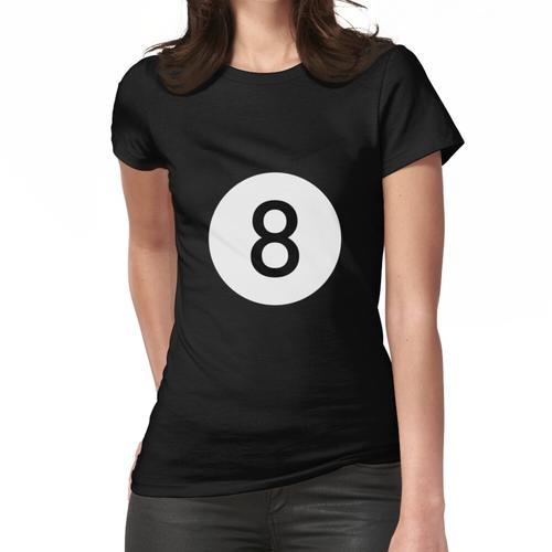 8 Ball Biliard Pool Frauen T-Shirt