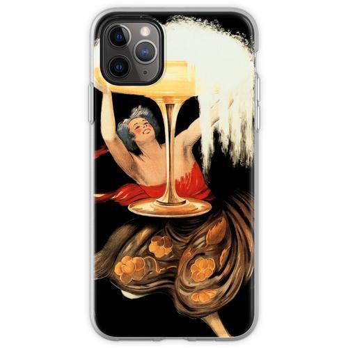 CONTRATTO SPARKLING WINE 1922 Italien Alkoholwerbung von Leonet Flexible Hülle für iPhone 11 Pro Max