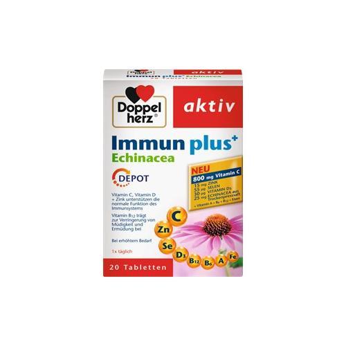 Doppelherz Gesundheit Energie & Leistungsfähigkeit Immun plus Tabletten 120 Stk.