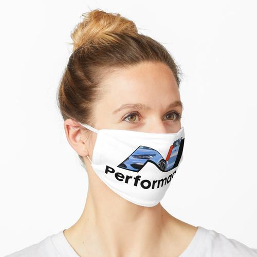 N Leistung - Leistung Blau Maske