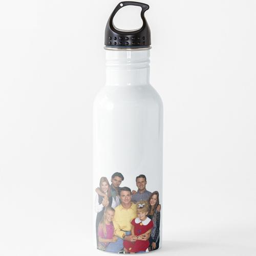 Volles Haus Wasserflasche