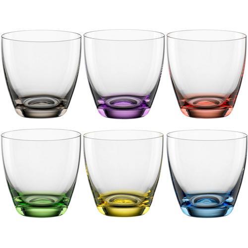 BOHEMIA SELECTION Glas »VIVA COLORI«, Kristallglas, 6-teilig