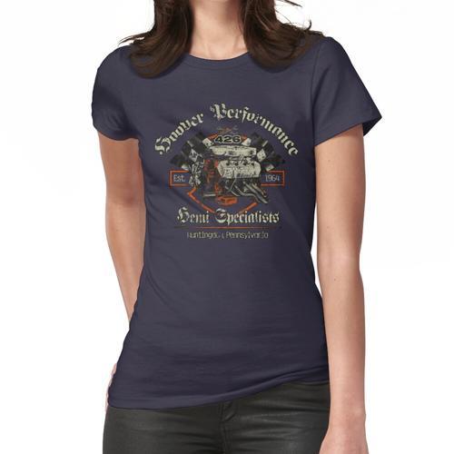Staubsauger-Leistung - Weinlese Frauen T-Shirt