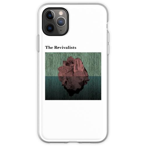 Holzherzen Flexible Hülle für iPhone 11 Pro Max