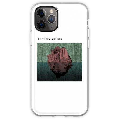 Holzherzen Flexible Hülle für iPhone 11 Pro