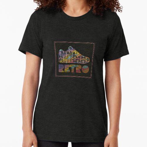 Retro Sneakers Tri-blend T-Shirt