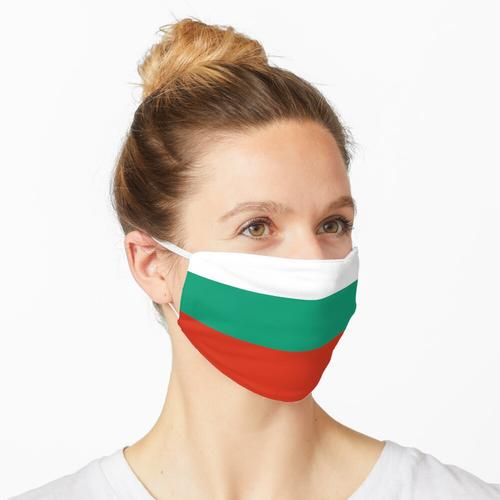 Bulgarien bulgarisch Flagge Fahne Maske