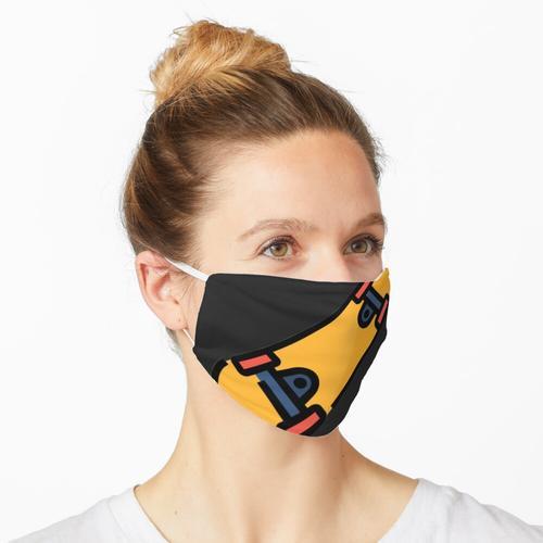 Skateboarder - Skate Girls Maske