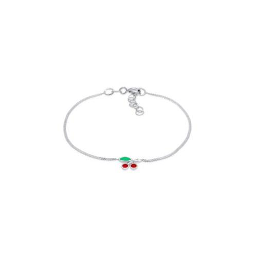 Elli Armband Kinder Kirsche Kristalle 925 Silber Armbänder silber Mädchen Kinder