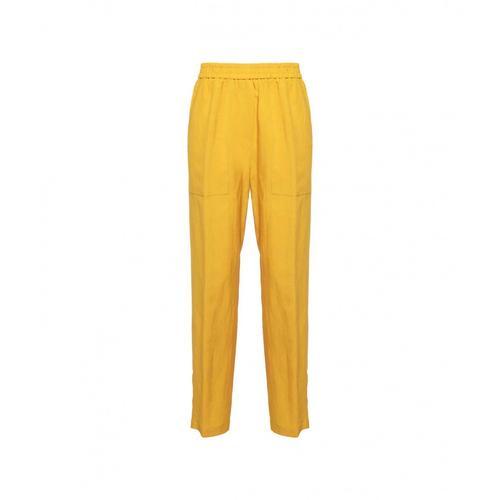 8Pm Damen Hose Baton Rouge Gelb
