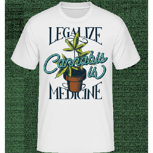 Canabis Is Medicine - Shirtinator Männer T-Shirt