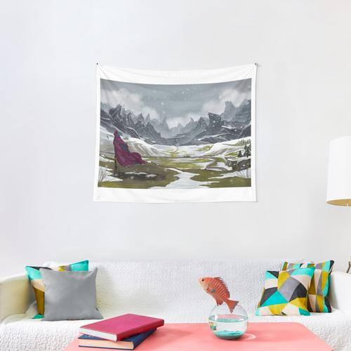 Long May He Reign Wall Tapestry