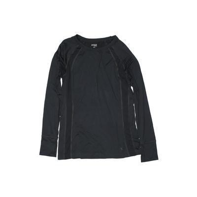 Danskin Active T-Shirt: Gray Sol...