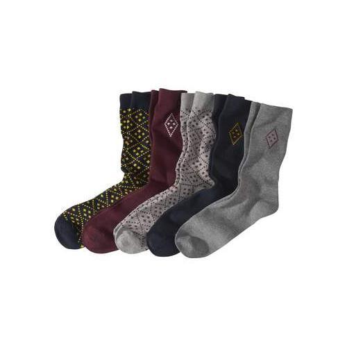 5 Paar modische Socken
