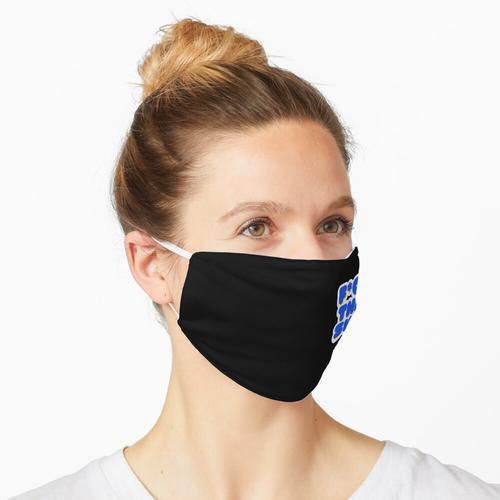 F * ck this Sh * t   Stimmungsaufkleber Maske