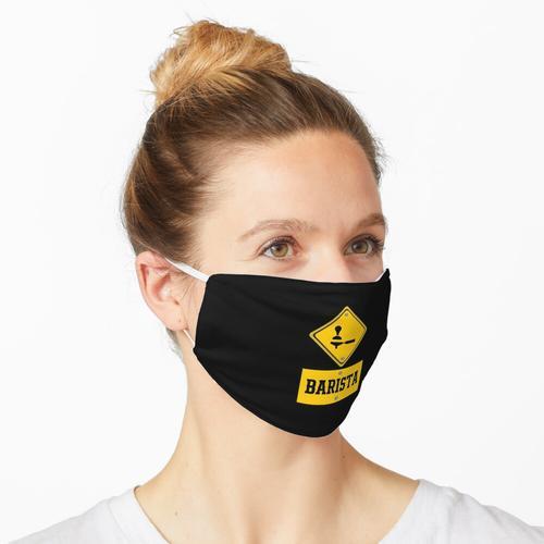 Barista Shirt, Barista Job Maske
