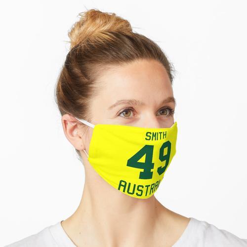 Steve Smith | 49 | Australisches Cricket-Trikot Maske