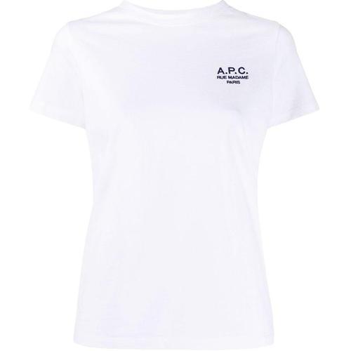 A.P.C. T-Shirt mit Stickerei
