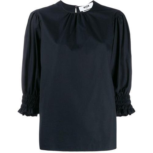 MSGM Bluse mit elastischen Bündchen