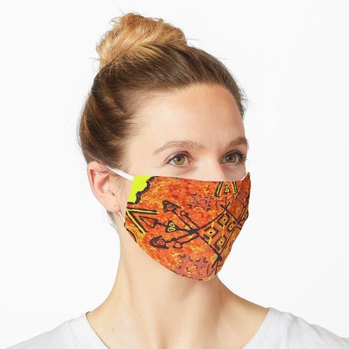 Recycling Art Maske