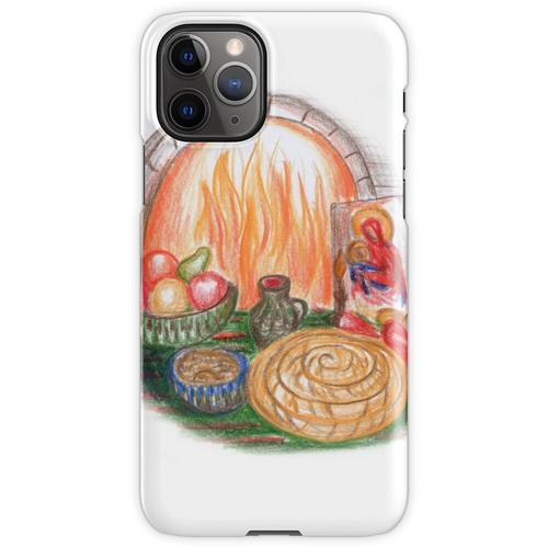 Budni Vecher, Heiligabend, Feier iPhone 11 Pro Handyhülle