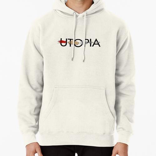 Utopia - Utopia title Pullover Hoodie
