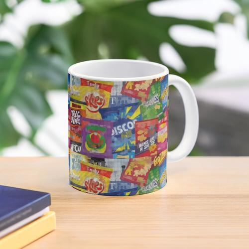 Crisp Packet Montage Mug
