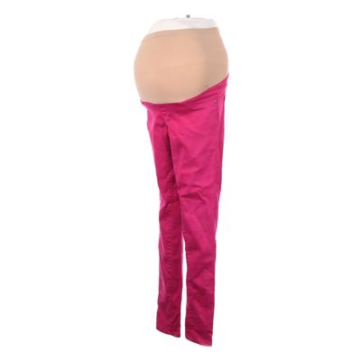 Motherhood Jeans - Super Low Rise: Pink Bottoms - Size X-Small Maternity