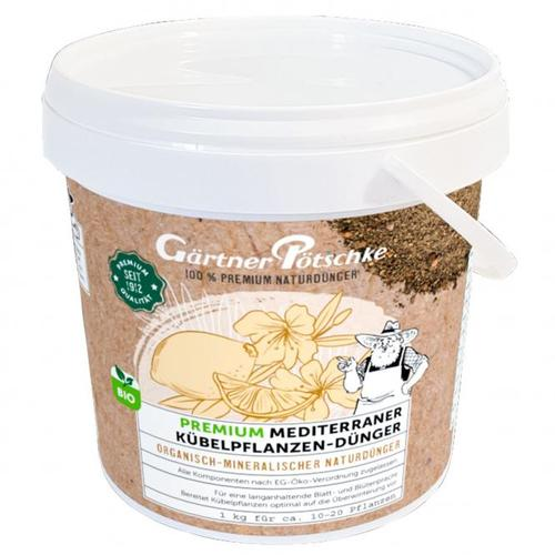 Premium Mediterraner Kübelpflanzen-Dünger, 1 kg