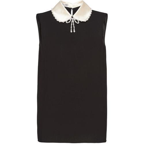 Miu Miu Verzierte Bluse